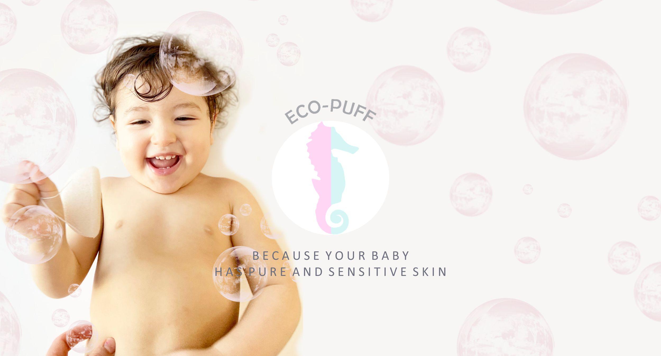 ECO Puff baby sponge